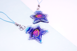 "Star Jar ""Rose"" Charm"