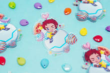 Load image into Gallery viewer, Voltron Lance Mermaid Milkshake Charm
