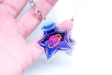 "Load image into Gallery viewer, Star Jar ""Rose"" Charm"