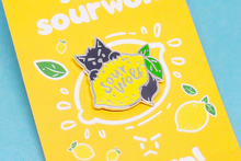Load image into Gallery viewer, Sour Wolf Pin