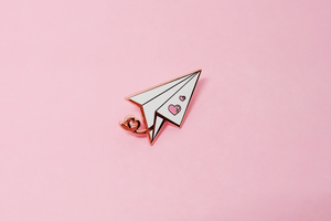 Love Message Pin