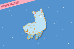 (Pre-order) Alpaca Pin EXCLUSIVE VERSION
