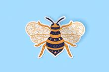 Load image into Gallery viewer, Bee Sticker