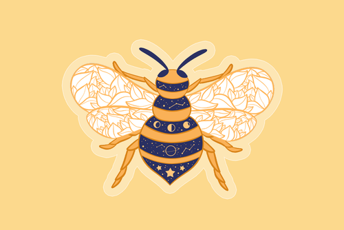 Bee Starry Charm