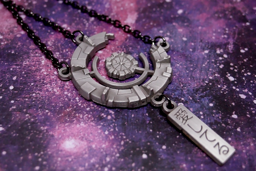 Sheith Black Paladins Necklace