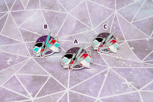 Sheith Black Paladins Pin