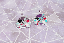 Load image into Gallery viewer, Sheith Black Paladins Pin