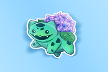 Load image into Gallery viewer, Bulbasaur Hydrangea Sticker