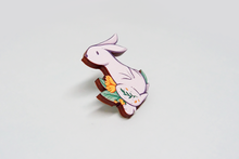Load image into Gallery viewer, Bunny Wooden Pin