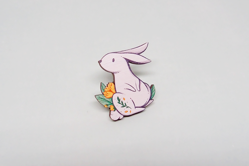 Bunny Wooden Pin