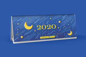 Constellations Desk Calendar 2020