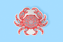 Load image into Gallery viewer, Crab Sticker
