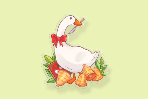 Chaotic Goose Charm