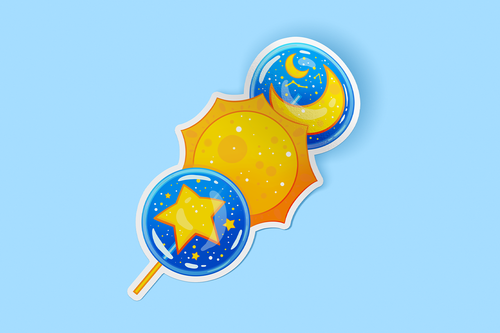 Dango Stars Sticker