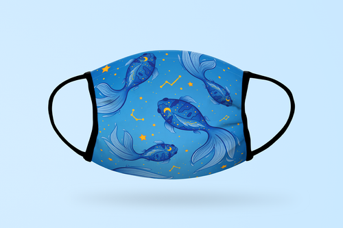 (Pre-order) Exotic Fishes Face Mask