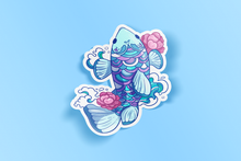 Load image into Gallery viewer, Fish Flowers Sticker