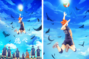"Haikyuu Team ""Fly"" Print"