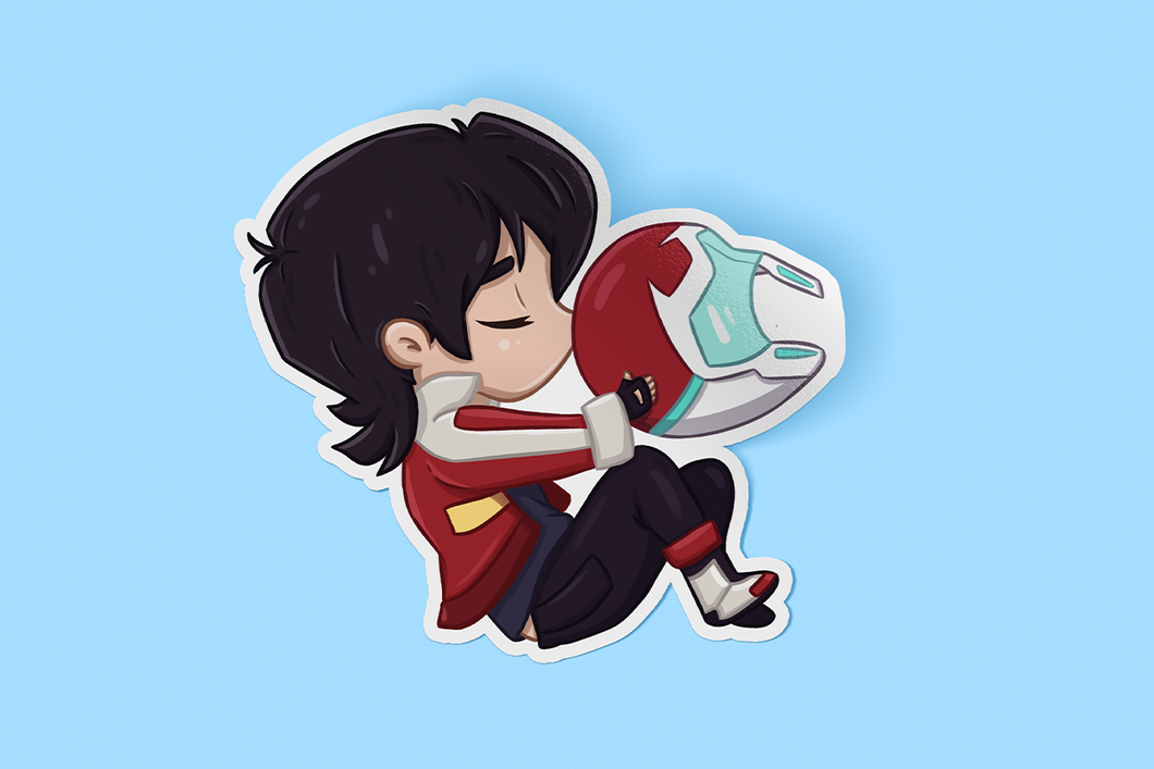 Keith Sleeping Sticker