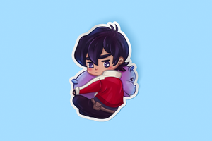 Keith Hippo Sticker