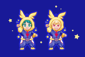 All Might Babies Charm