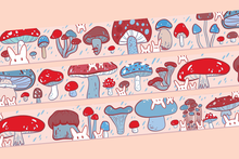 Load image into Gallery viewer, Mushy Mushrooms Washi Tape