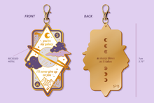 Load image into Gallery viewer, Sheith Galaxy Keychain