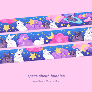 Sheith Bunnies Washi Tape