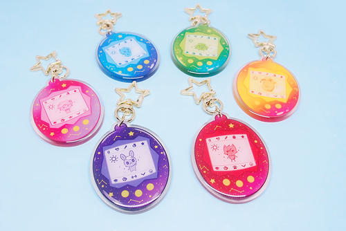 Voltron Tamagotchis Acrylic Charms
