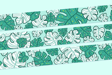 Load image into Gallery viewer, (Pre-Order) Monstera Washi Tape