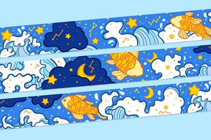Underwater Universe Washi Tape