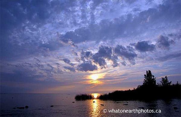 mackerel sky, Kettle Point, Ontario