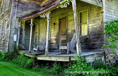 decaying veranda, Lambton County, Ontario