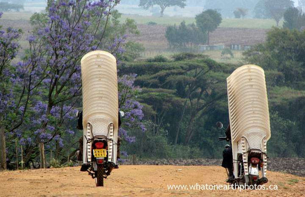 how to transport 40 chairs, Kenya