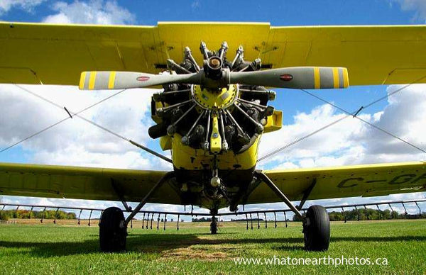 crop duster, Middlesex County, Ontario