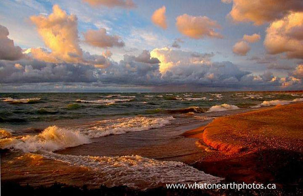 """paint the Huron shores"", Grand Bend, Ontario"