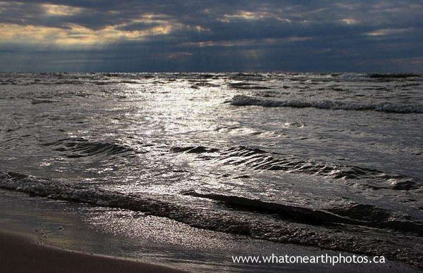 """sea of silver"", Lake Huron, Ontario"