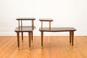 MCM Step Side Tables