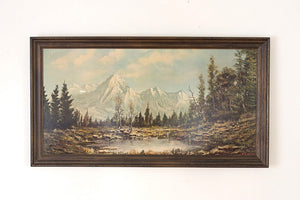 Mountain Landscape Print