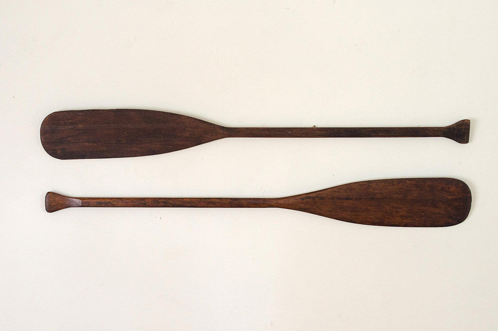 Hand Carved Oars