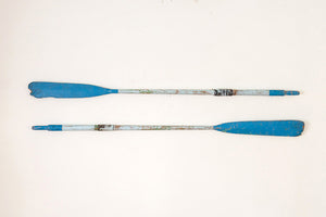 Vintage Painted Oars