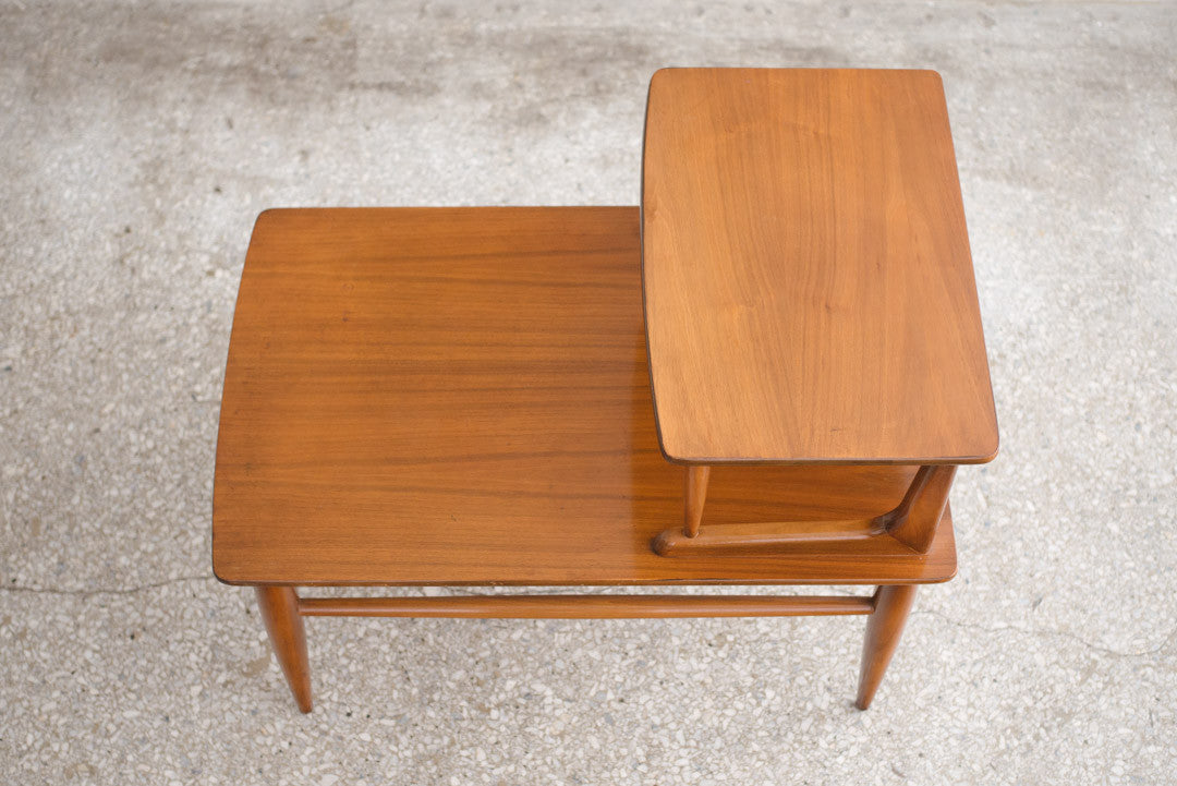 Awesome Mid Century Step Side Table