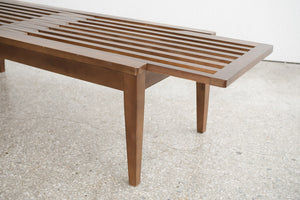 Japanese Slide Slat Bench