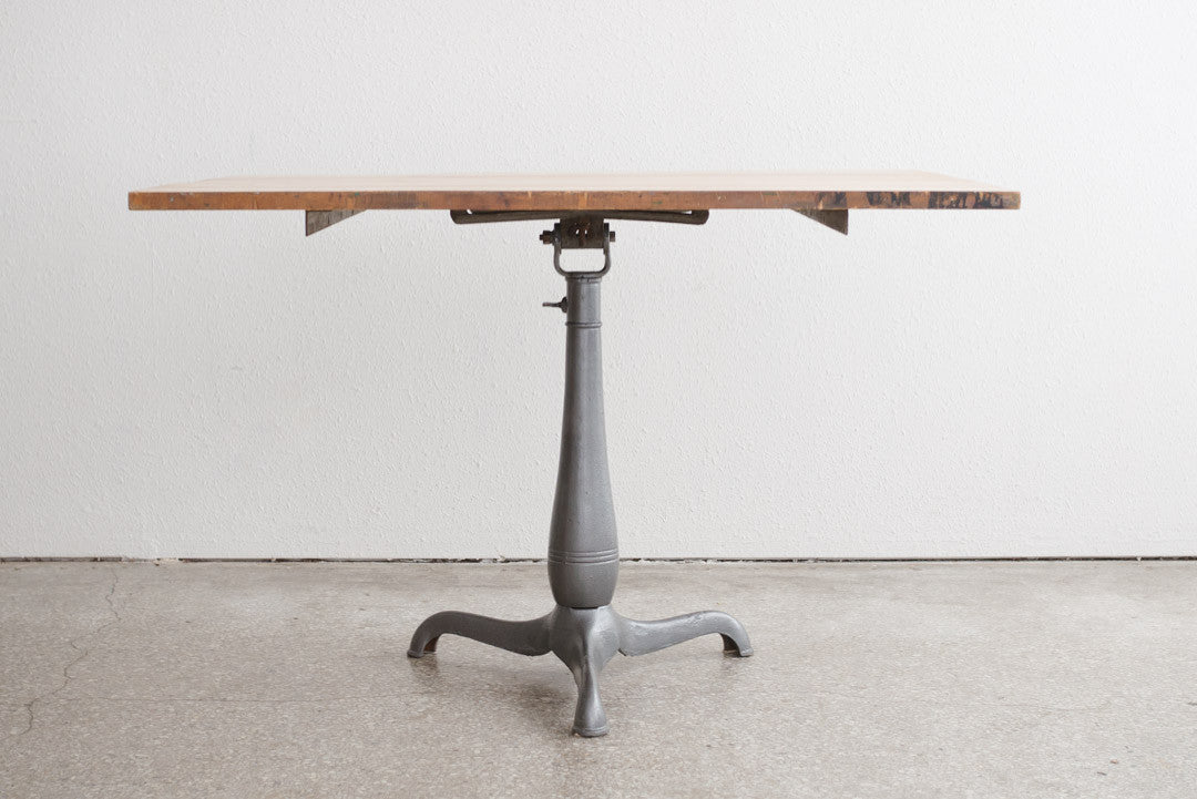 Pedestal Drafting Table