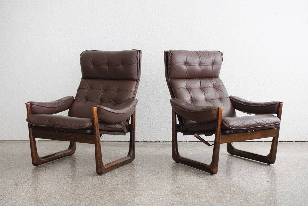 Admirable Mid Century Leather Chairs Pdpeps Interior Chair Design Pdpepsorg