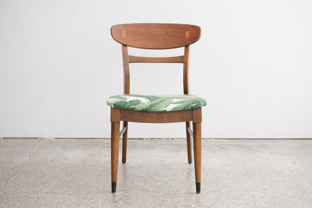 Mid Century Palm Leaf Chair