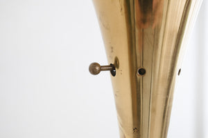 Brass Torchiere Floor Lamp