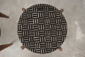 MC Mud Cloth Stools
