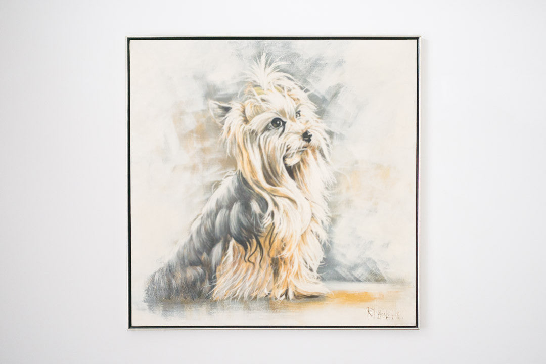 XL Yorkshire Terrier Painting