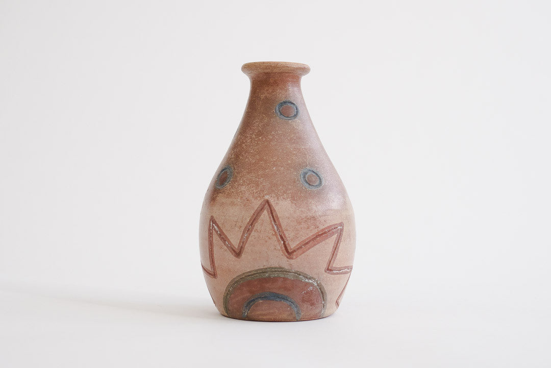 South American Painted Vase