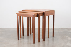 MC Teak Nesting Tables